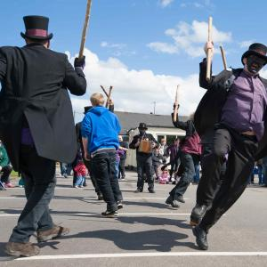 Queens Jubilee. Mummers.Low res JPG 6880